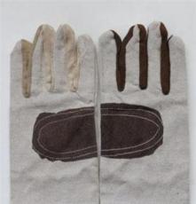 批量供应 帆布防护手套 优质防护手套 电焊防护手套