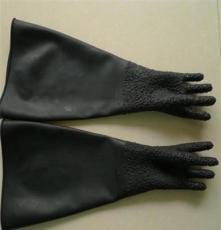 徐州加厚喷砂手套,喷砂防护手套,耐磨乳胶喷砂手套