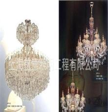 上海照明工程公司,水晶灯生产厂家,订制水晶灯,会所灯具。吊灯