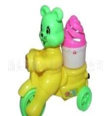 (廠家直銷)供應0471真伙伴盒裝拉線雪糕兔車玩具糖果