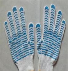 福建棉纱针织点塑手套生产厂家