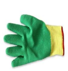 乐硕防静电科技 工厂定制 橡胶防护手套 劳保手套
