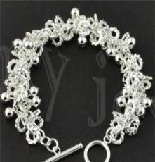 北京首飾批發,飾品代發 時尚銀飾,925銀手鏈SL0054
