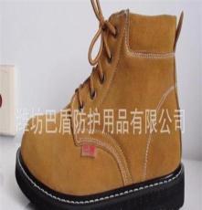 巴盾劳保鞋厂家 防砸防穿刺 黄反绒加厚轮胎大底 防护鞋主要品牌
