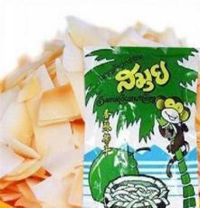 進口零食 泰國 SAMUI 蘇梅記香酥椰子片40克 濃濃椰香 藍袋果干