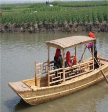 特色手划小木船 农家乐旅游木船