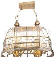 沃达尔灯饰全铜灯 经典客厅卧室欧式吊灯 全铜焊锡灯