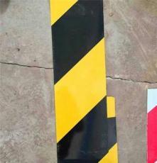 镀锌铁皮楼层警示带 施工安全带 黑黄铁皮踢脚线警示带