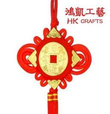 中國結掛件 大小號手工藝品 喜慶掛飾類 廠家批發流蘇中國結板結