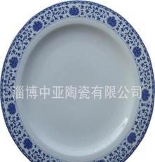 镁质强化瓷 青花盘、碗、碟 陶瓷餐具