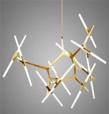 Roll Hill Agnes簡約后現代吊燈人字樹枝樹叉G9LED設計師的燈具