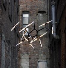 簡約現代Roll Hill 人字樹杈樹枝別墅會所高檔創意吊燈