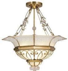 阿斯諾燈飾全銅燈 餐廳臥室門庭陽臺歐式吊燈 全銅焊錫燈