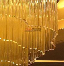 廣西南寧定做大型非標酒店別墅商場超市工程水晶LED吊燈吸頂燈