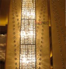 新疆定制非標酒店 定做會議室工程水晶LED吊燈