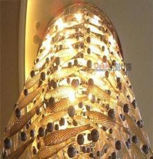 梧州、北海定做大型非標酒店別墅商場超市工程水晶LED吊燈吸頂燈