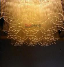 內蒙古包頭定做大型商場超市非標酒店別墅會議室工程水晶LED吊燈