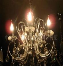供应豪华铁艺吊灯,欧式吊灯,水晶蜡烛灯