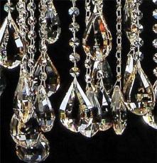 古鎮廠家批發現代簡約K9水晶吊燈 歐式吊燈 餐廳吊燈 蠟燭燈