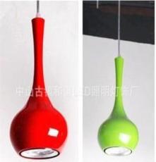 現代簡約9wLED餐吊燈 LED吊燈 大功率LED時尚吊燈 古鎮燈飾廠家