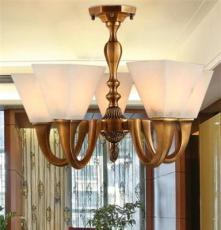 獨家定制 復古中式全銅燈 客廳led吊燈新中式宜家吊燈古鎮吊燈