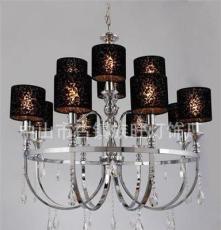 批發供應9972-8+4歐式風格水晶吊燈