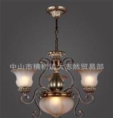 德瑞斯 高品质欧式 复古艺术 贵族气质低调奢华 树脂吊灯