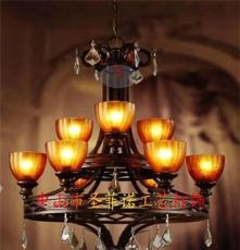 仿古鐵藝燈