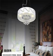 現代吸頂燈簡約臥室水晶燈創意時尚客廳燈飾溫馨餐廳燈具
