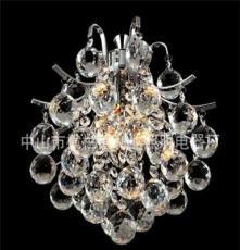 利业 供应欧式现代简约吊灯水晶吊灯家居吊灯布罩吊灯12080-3