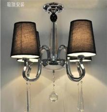 水晶吊燈餐廳燈 水晶吊燈鋅合金 4頭水晶吊燈客廳 水晶燈吊燈廠家
