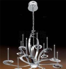 供应厂家直销不锈钢现代灯客厅灯LED餐厅吊灯创意卧室吊灯
