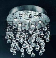 供应厂家直销时尚经典圆球吊线水晶灯 客厅卧室餐厅灯饰