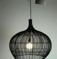 藤编灯具,中式吊灯,创意吊灯,客厅吊灯,藤编工艺吊灯