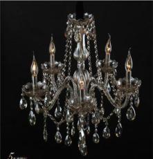 智造灯饰经典欧式水晶灯 客厅灯具 LED卧室餐厅灯 法式吊灯