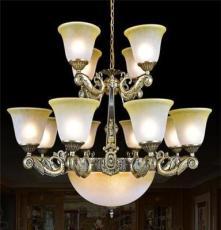 智造灯饰欧式经典吊灯 批发欧式仿铜灯具 吊灯 客厅卧室餐厅灯饰