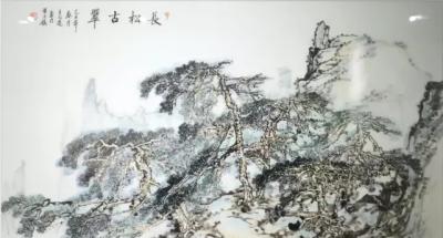 陶瓷壁画定做厂家王志远新彩陶瓷壁画