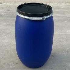 120升塑料桶120公斤法蘭桶120L開口桶