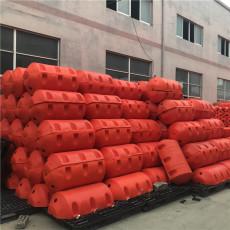 水面漂浮垃圾拦污塑料浮筒生产工厂