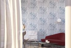 JCC天洋墻布 高檔別墅歐式立體客廳背景藝術