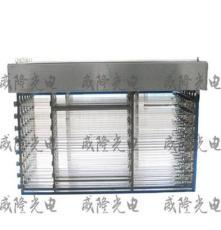 安徽廠家直營明渠式紫外線消毒系統圖片 框架式滅菌消毒設備