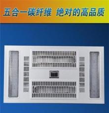廠家批發集成風暖浴霸 碳纖維燈管照明嵌入壁掛式快速取暖浴霸