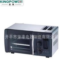 二合一多功能电烤箱 H1020C烤箱9L