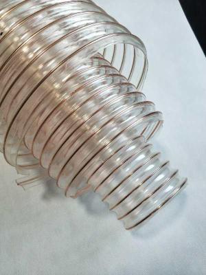 耐温滨州pu聚氨酯钢丝通风吸尘管生产厂家