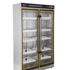 910L大容量毛巾消毒柜 紫外线消毒 热风循环 立式商用消毒柜