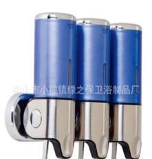 星級酒店優選高級拉壓式皂液器 三頭裝皂液瓶 500ml*3 量大從優
