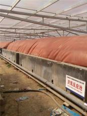 红泥沼气袋沼气包厂家设计报价和图片介绍