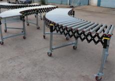 伸缩式辊筒输送机无动力伸缩辊筒输送机厂家