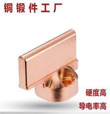 供应紫铜锻造行业领先 铜产品代工 量大重优专业 生产铜外牙弯头