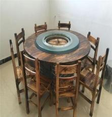 柴火旺大灶臺農家院土鍋臺地鍋臺 出售1.2米圓形6-8人圓桌